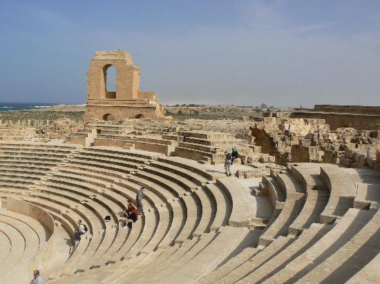 Tripoli, Libyen: Sabratha