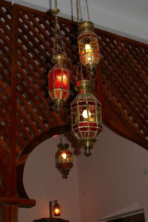 Zanzibar Palace Hotel: Room Lighting !!
