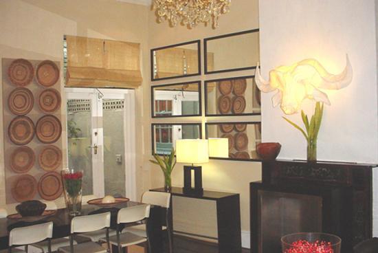 An African Villa : Part of Villa Dining Room