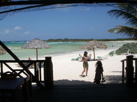 Brisas Covarrubias Hotel: from beach rest. & bar