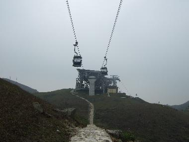 Approaching Tower 6 and the Angle Station