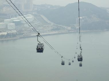Overlooking Tung Chung Bay from Tower 3