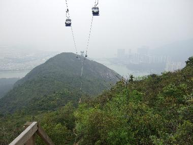 Looking towards Tower 3 and a distant Tung Chung