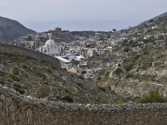 Real de Catorce, Mexique : From the path to the ghost town