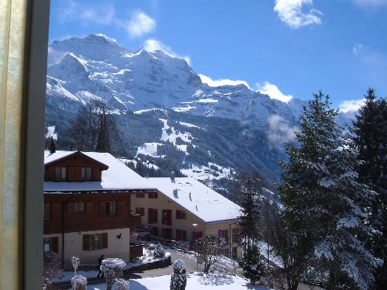 Wengen, Switzerland: View from balcony