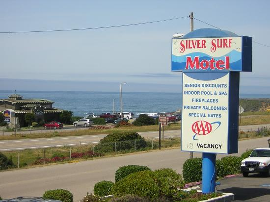 Silver Surf Motel: a view from the balcony