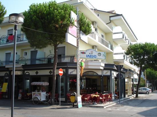 Hotel Stefan from the street