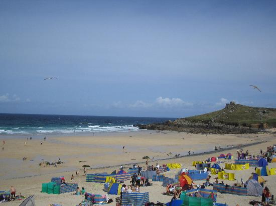 Porthmeor in August
