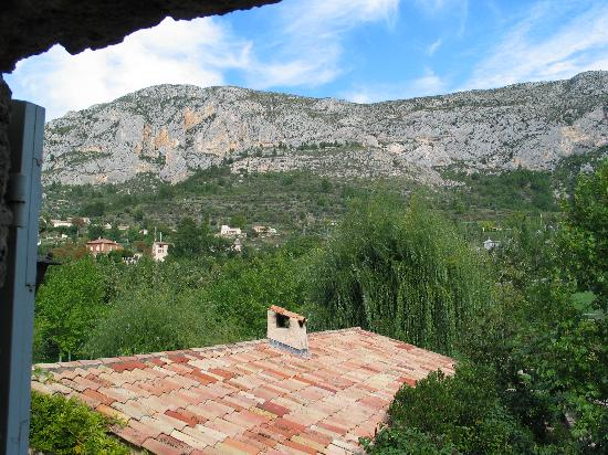 La Bastide de Moustiers: from our room