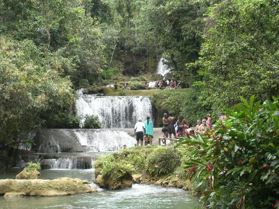 Runaway Bay, Jamaica: YS Falls Very pretty