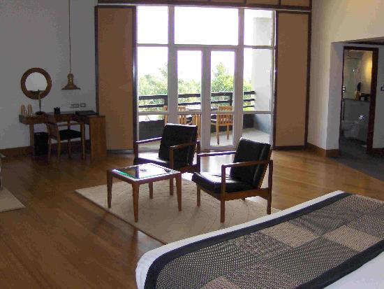 Heritance Ahungalla : Bedroom area @ Heritance