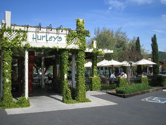 Hurley's Restaurant & Bar: outside the restaurant