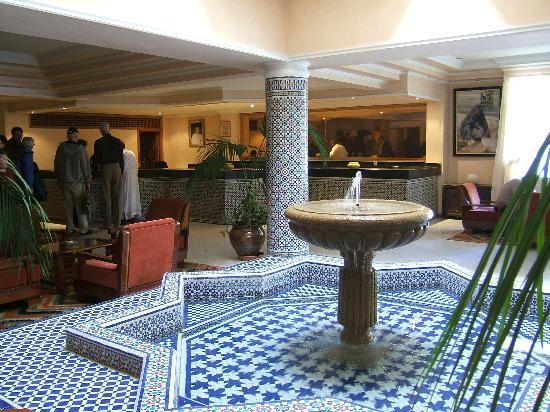 Sale, Maroc : Hotel LeDawliz Lobby