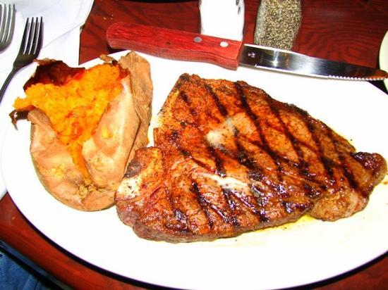 Longhorn Steak Restaurant Menu
