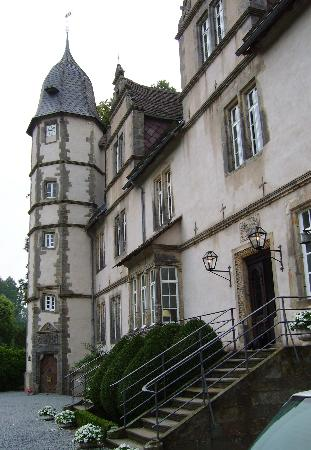 Dorentrup, Germany: Schloss Wendlinghausen Entrance