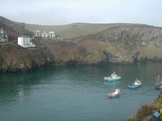 Port Isaac, UK: Room with a view