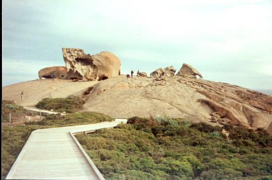 Isla Canguro, Australia: Remarkable Rocks