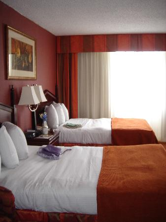 Holiday Inn Select Memphis - Downtown (Beale Street): Our Room