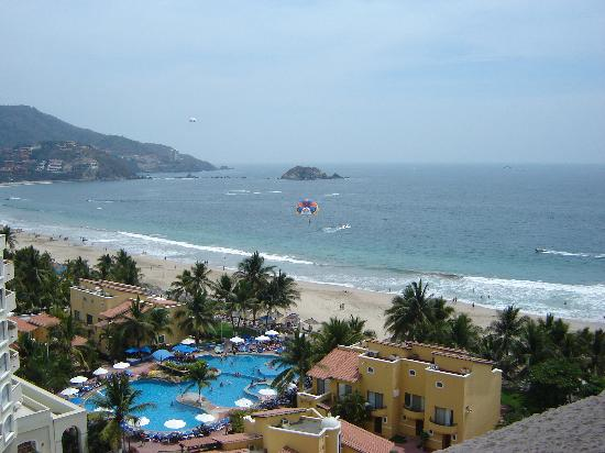 View from room @ Park Royal Ixtapa