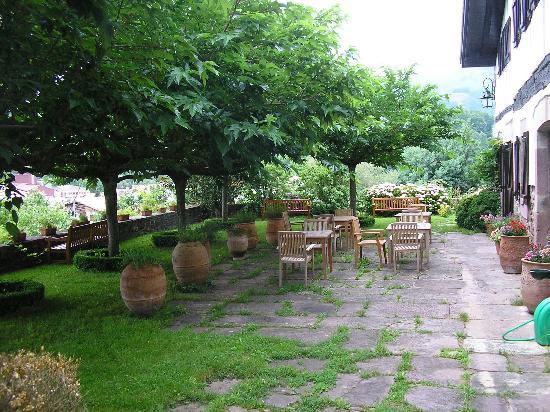 Terrace, Hotel Senorio de Ursua