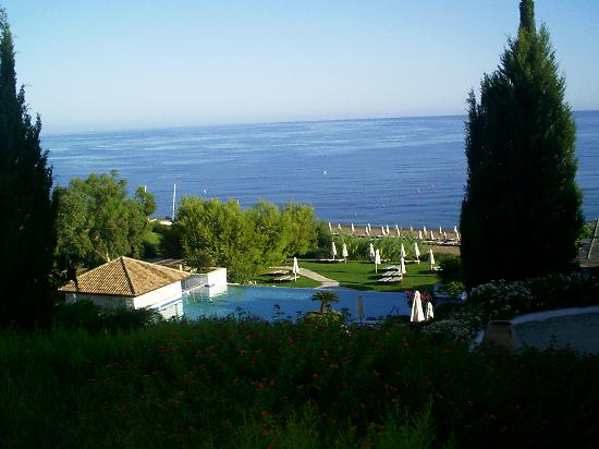 Anassa Hotel: a view from our terrace
