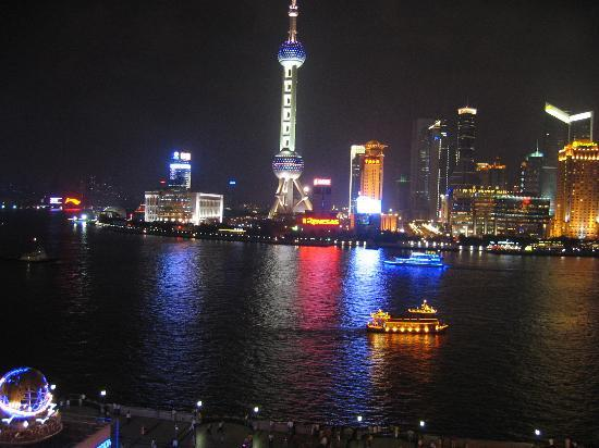 Shanghaiansk, Kina: Pudong from the Bund