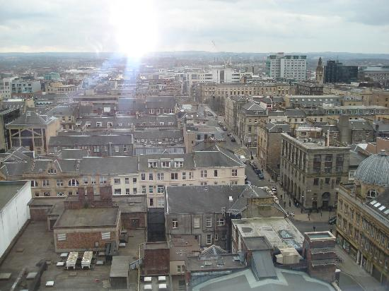 Glasgow Loft Apartments: View of City from Living Room
