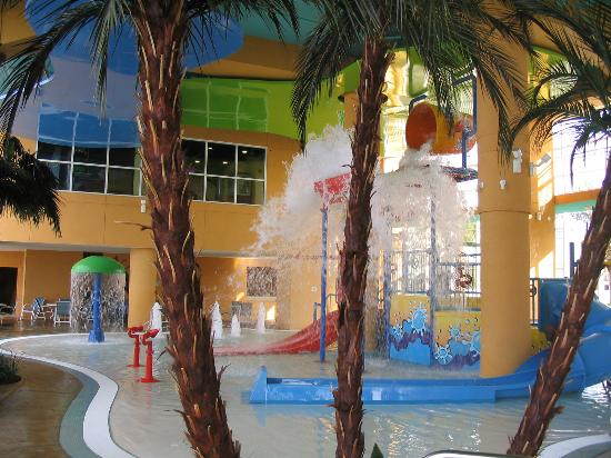 Splash Resort Condominiums: Kids Waterpark Area