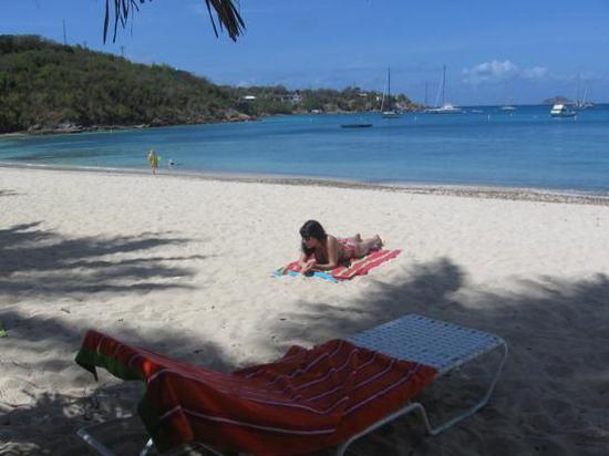 Virgin Islands Campground : the beach