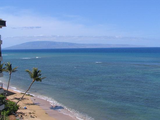 هولولاني أوشنفرونت كوندومينيومس: view from our lanai