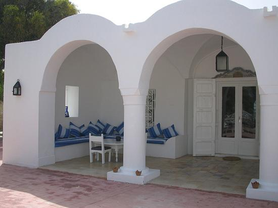 Residence Dar Sidi : Entrance to restaurant
