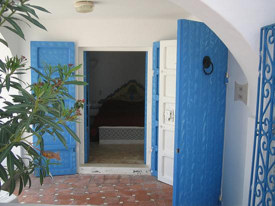 Residence Dar Sidi : Outside one of the rooms