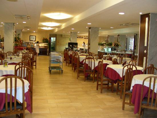 Hotel President: sala da pranzo