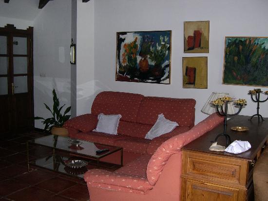 Grazalema, Spanje: The cozy lounge of La Mejorana