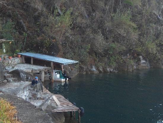 Lomas de Tzununa: Hotel Dock