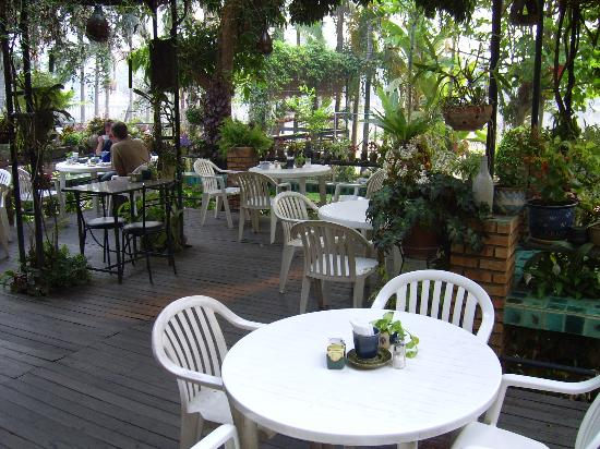 River View Lodge : The outdoor dining area