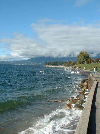 Vancouver, Kanada: The walkway from False Creek to Stanley park.