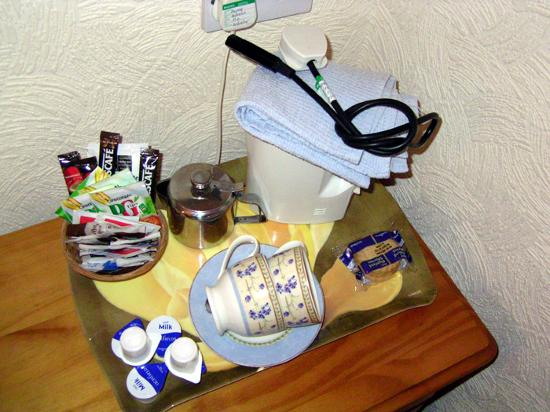 St. Hilary Guest House : The hospitality tray