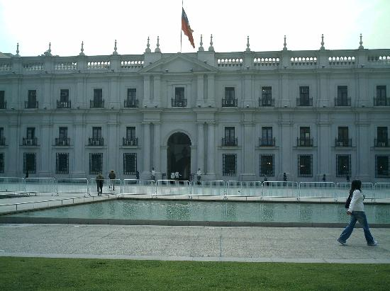 Santiago, Chile: La moneda