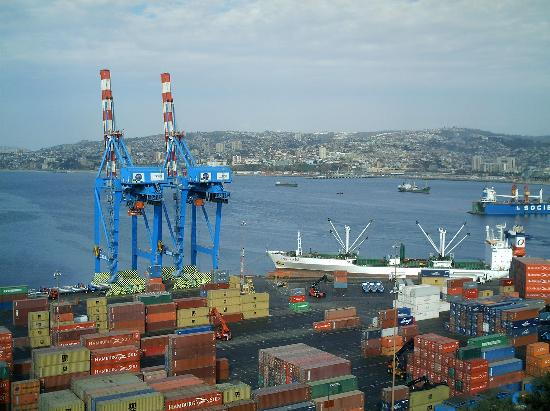 Valparaiso, Chile: vista del puerto