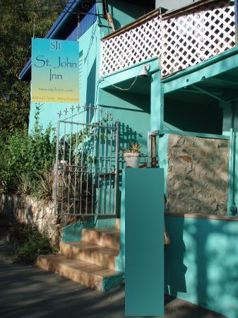 St. John Inn: front door