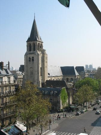 Au Manoir Saint Germain De Pres: The view from Room 602