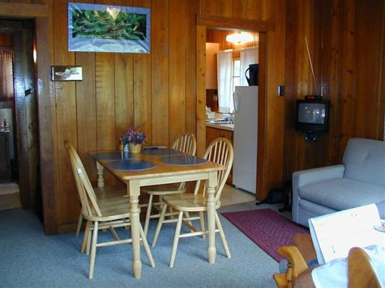 Interior Cabin Apgar Village Lodge