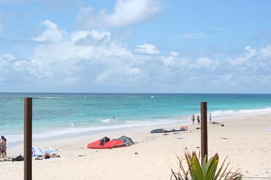 Silver Point Hotel: The beach