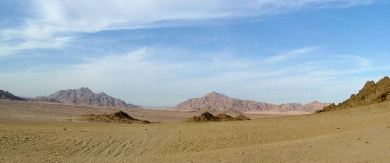 Sharm El Sheikh, Egypten: Sinai panoamic