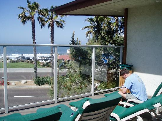 Best Western Plus Beach View Lodge: View from the sun deck