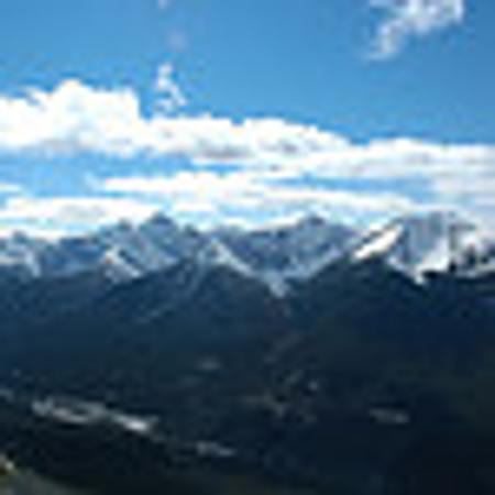 Beaujolais Boutique B&B at Thea's House: View From Top Of Mountain In Banff
