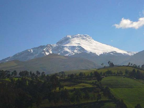Snow covered volcanoes tours availables from Guayaquil's tourist info.
