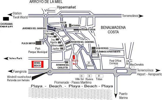 Hotel & Spa Benalmádena Palace: map