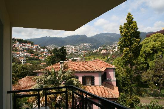 Quintinha São João: View of the mountains from the Hotel